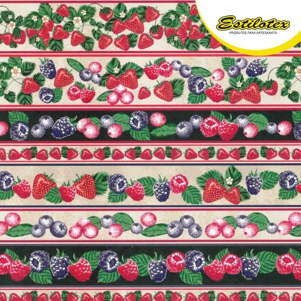Estampado frutas vermelhas 28062