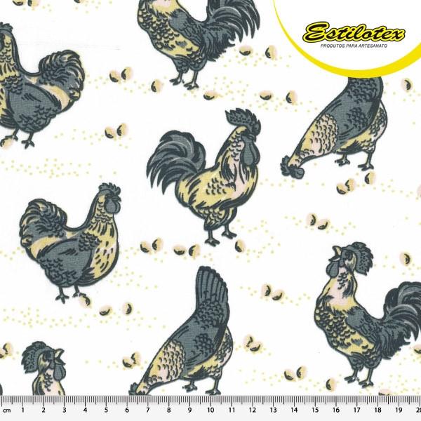 Estampado galinha 1014