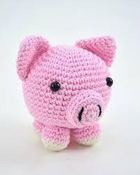 Produto Pronto Kit Amigurumi Círculo - Porco